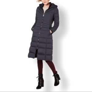Bernardo coal eco friendly maxi puffer XL new
